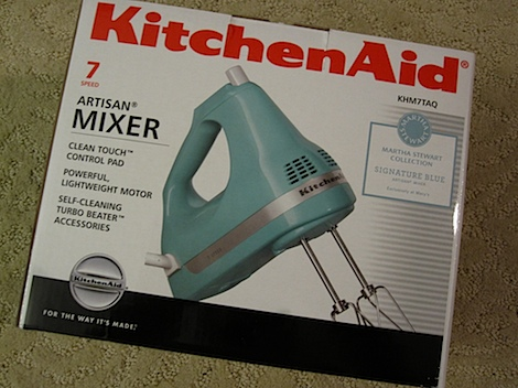 kitchenaid hand mixer turquoise - kitchen design